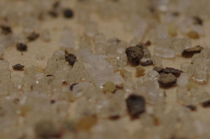 味の仕上げに使う塩・コショウだけを撮影しました(等倍切り出し)。